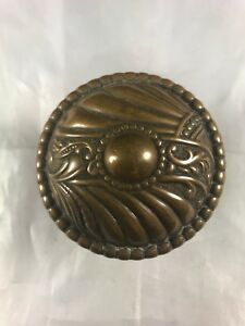 B 21500 Corbin Roanoke Victorian Antique Brass Doorknob Door Knob 2 1 2