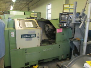 Okuma Lb15 220 440v Cnc Turning Center New 1988 W osp 5000l g Control