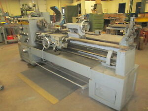 Hes Machine Tools Hes16 Type 435 84 bed 220 Volt 3ph Engine Lathe