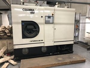 Columbia Turbo dry 75 Lb Perk Dry Cleaning Machine