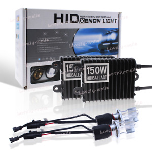 55w 75w 100w 150w Hid Xenon Headlight Kit Bulbs Fog Light H4 H1 H11 9005 9006 Lq