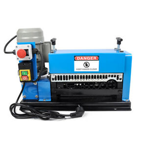 Nzl 110v Auto Wire Scrap Cables Stripper Copper Stripping Machine 1 2 Hp Motor