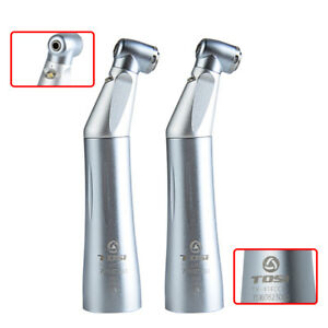 2 X Tosi Push Type Led E Generator Inner Water Push Contra Angle Handpiece Tx 75