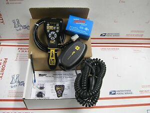 Meyer Genuine Wireless 12 pin Pistol Grip Snow Plow Controller Kit New 23010