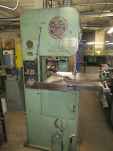 Do All Metal Master Vertical Band Saw W 16 w X 10 Tall Opening