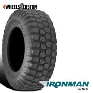 1 X New Ironman All Country M T 33x12 5x15 108q Mud Terrain Performance Tire