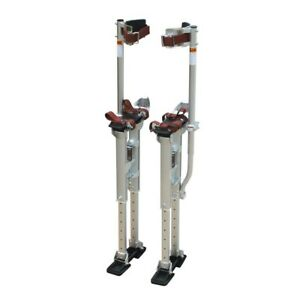 18 In To 30 In Adjustable Height Drywall Stilts Heavyduty Utility Finishing