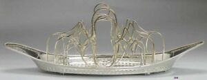 Best Quality C1800 English Old Sheffield Fused Silverplate Toast Rack