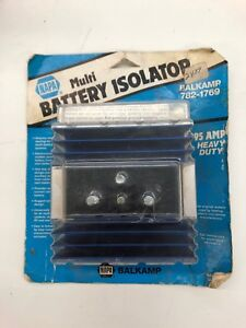 New Napa Multi Battery Isolator Sure Power Ind 95 Amp Model 9523a