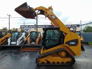 2013 Cat 279d 2 Speed Turbo high Flow A c Cab Self Leveling Stereo