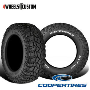 2 X New Cooper Discoverer Stt Pro 33 12 5 15 108q Off Road Traction Tire