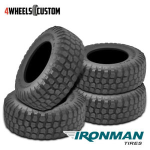 4 X New Ironman All Country M T 33 12 5 15 108q Mud Terrain Tire