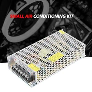 2 Tec1 12706 110v Semiconductor Refrigeration Cooler Diy Air Cooling Device