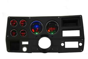 Intellitronix Chevy Truck 73 87 Led Digital Gauge Panel Red