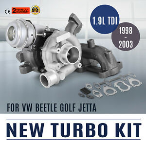 Vw Volkswagen Beetle Golf Jetta Tdi Alh 98 04 New Turbo Turbocharger