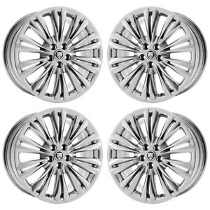 19 Jaguar Xf Xk Caravela Pvd Chrome Wheels Rims Factory Oem 59853 54 Exchange