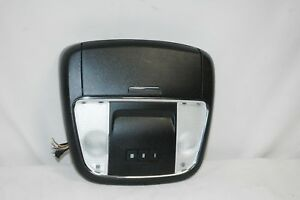 11 12 13 14 Dodge Charger Roof Overhead Console Homelink Sunglass Black B3c03