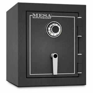 Mbf1512c Mesa Security Home Office 2 Hour Fireproof Burglary Safe Dial Lock