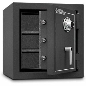 Mbf2020c Mesa Security Home Office 2 Hour Fire Burglary Safe Combination Dial