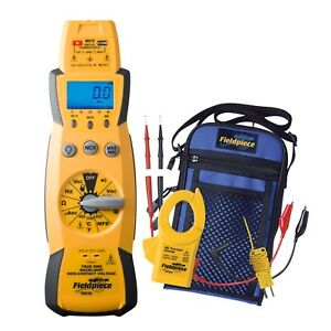 Fieldpiece Hs33 Expandable Manual Ranging Multimeter For Hvac r New In Box