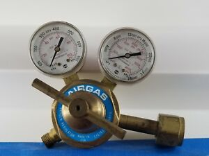 Airgas Heavy Duty Oxygen Regulator Model No 250 80 540 Lot 112 61