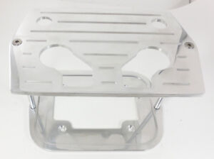 Billet Polish Ball Milled Optima Battery Tray Chevy Ford Mopar Fit 34 78 Group