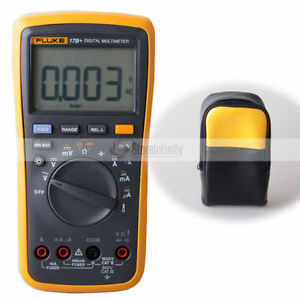 Fluke 17b Digital Professional Multimeter Labloot Soft Carry Case Carrier