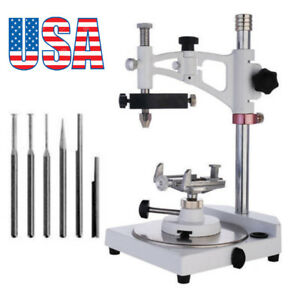 Dental Dentist Lab Parallel Surveyor Equipment Machine W Handpiece Holder us