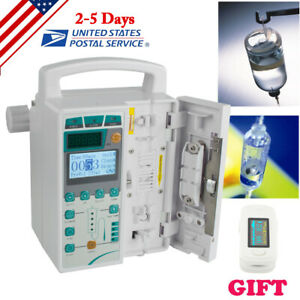 Medical Infusion Pump Iv Fluid Infusion With Audible Alarm Vet Infusion Pump Us
