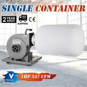 1 Hp Light Duty Industrial Dust Collector Portable Suction Senior Hot Great