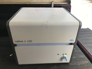 Roche Cobas Z 480 Vial Sample Molecular Analyzer Thermal Cycler Real time Pcr