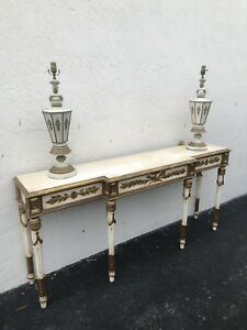 Italian Florentine Wooden Console