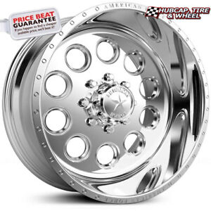 American Force Big Ten Ss8 Polished 19 5 x7 5 Truck Wheels Rims 8