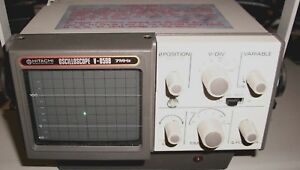 Vintage Hitachi V 059b u 7mhz Waveform Monitor Oscilloscope