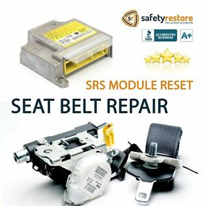 1 Mercedes Seat Belt Repair Buckle Pretensioner Rebuild Reset Recharge Seatbelt