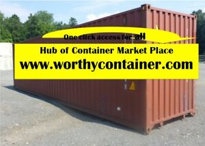 Houston Tx 20 X 20 Cargo Worthy Shipping Container Sale total 28 000