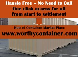 Chicago Il 20 X 20 Cargo Worthy Shipping Container Sale total 28 000