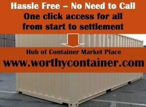 Savannah Ga 20 X 20 Cargo Worthy Shipping Container Sale total 28 000