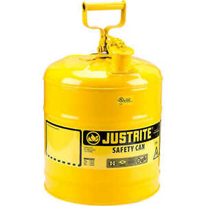 Justrite Type I Safety Can Five gallon Diesel Can