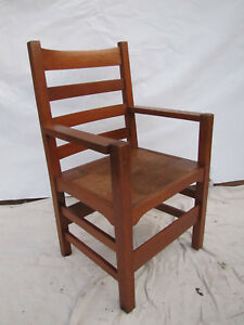 Antique Early Gustav Stickley Armchair Inv1714