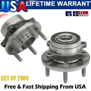 2 Front Or 2 Rear Wheel Bearing Hub 2011 2012 2013 2014 2015 2016 Ford Explorer