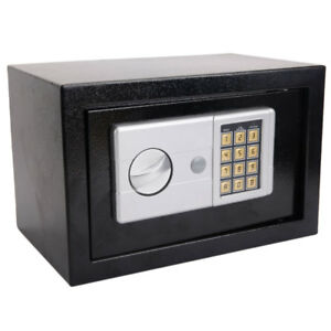Digital Electronic Safe Box Keypad Lock Gun Jewelry Cash Home Office Hotel Us