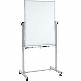 Mobile Double Sided Magnetic Whiteboard 30 X 40 Lot Of 1