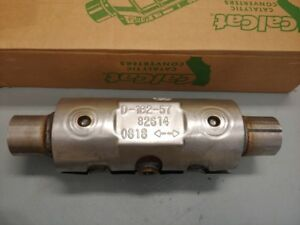 California Carb Legal Universal Fit Catalytic Converter 82614 Walker New
