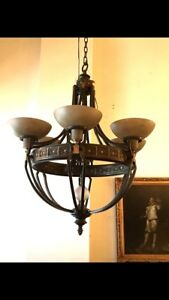 Gothic Style Chandelier 6 Light Bulbs