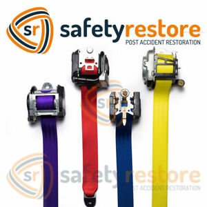 Frayed Dog Chewed Ripped Seat Belt Webbing Replacement Color Change Repair 24hr