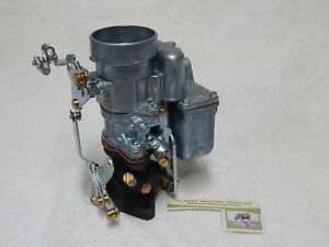 New Production Carter Wo Carburetor Willys Mb Cj2a Ford Gpw Army Jeep G503 Carb