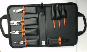 New Klein Tools Basic Insulated Tool Kit 1000 volt 8 piece 33526 Made In Usa