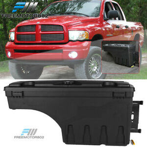 Fits 02 18 Dodge Ram Abs Truck Bed Storage Box Toolbox Passenger Side