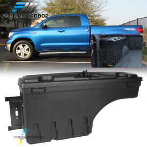 Fits 07 19 Toyota Tundra Abs Truck Bed Storage Box Toolbox Driver Side